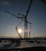Picture of a tower crane